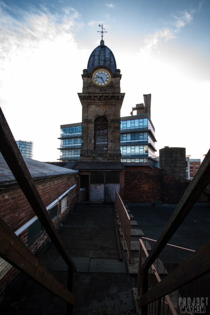 Sheffield Crown Courts - Clock Tower
