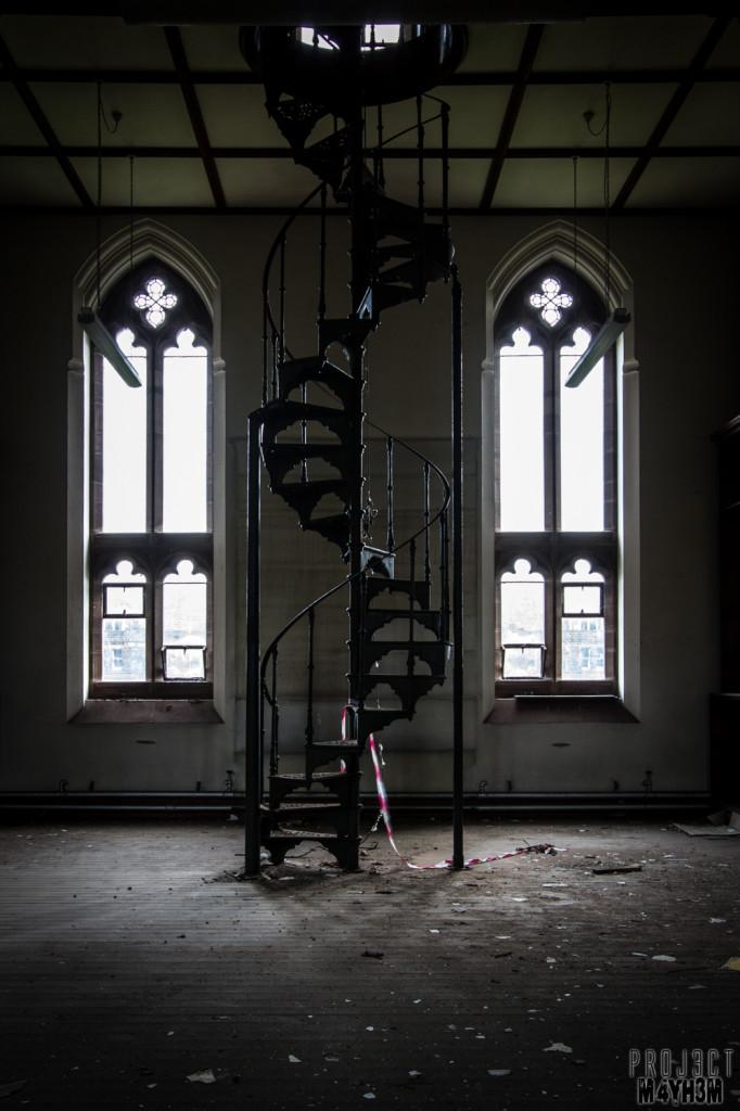 St Josephs Seminary - Spiral Staircase