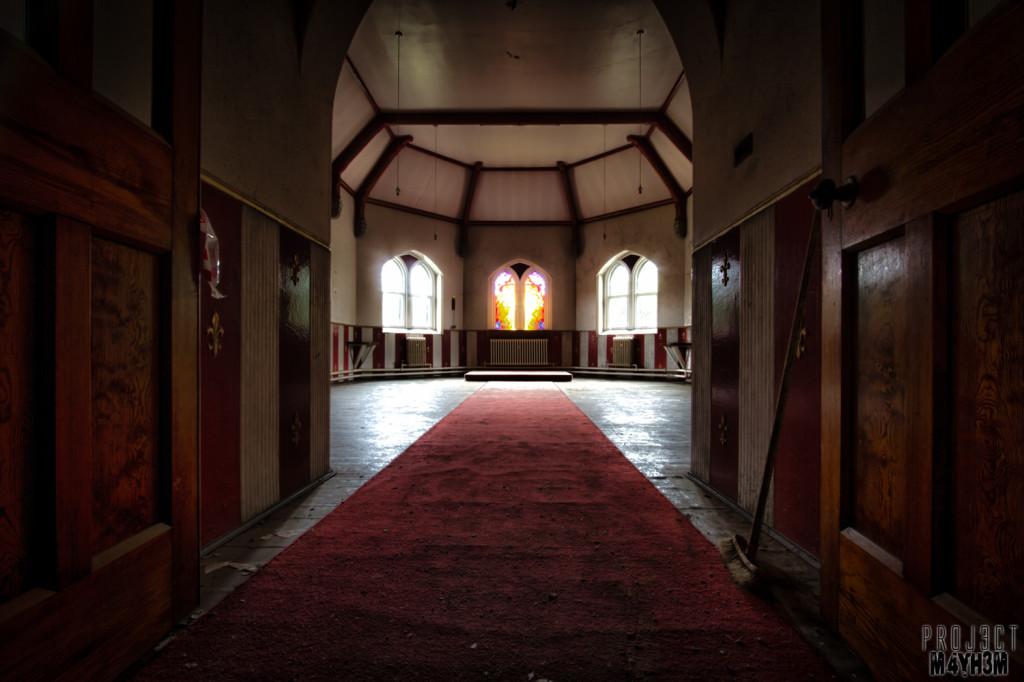 St Joesephs Seminary - Red Carpet Chapel