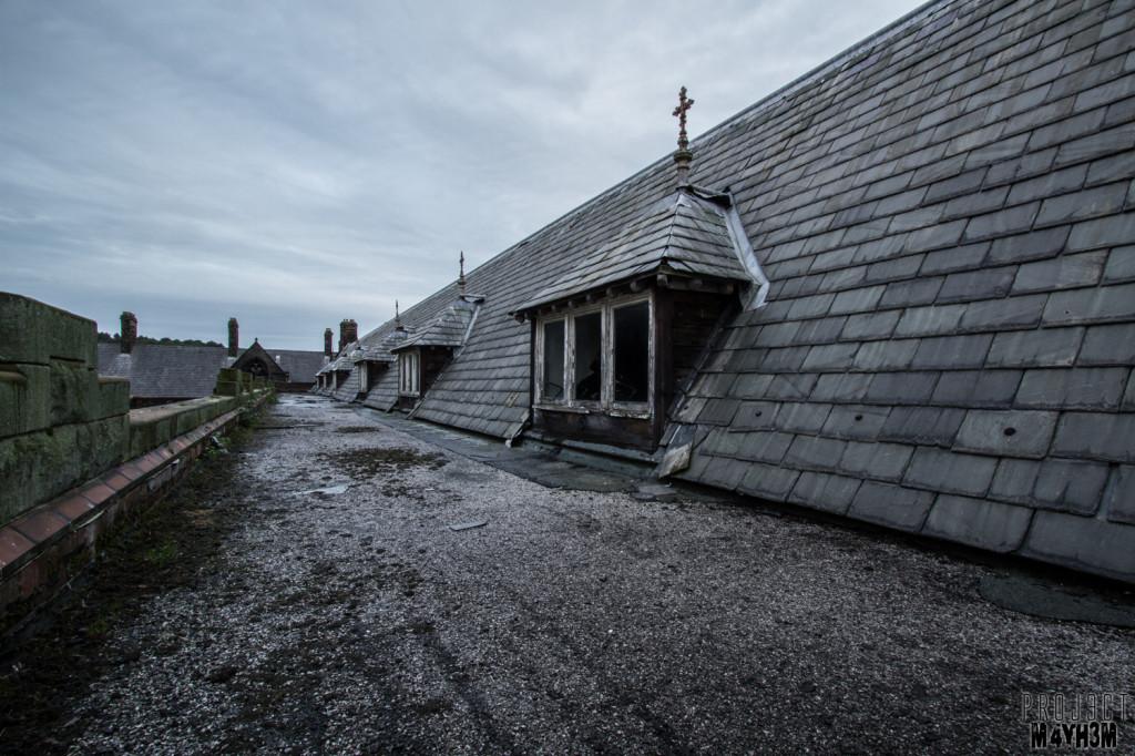 St Joseph's Seminary - Dormitory Roof
