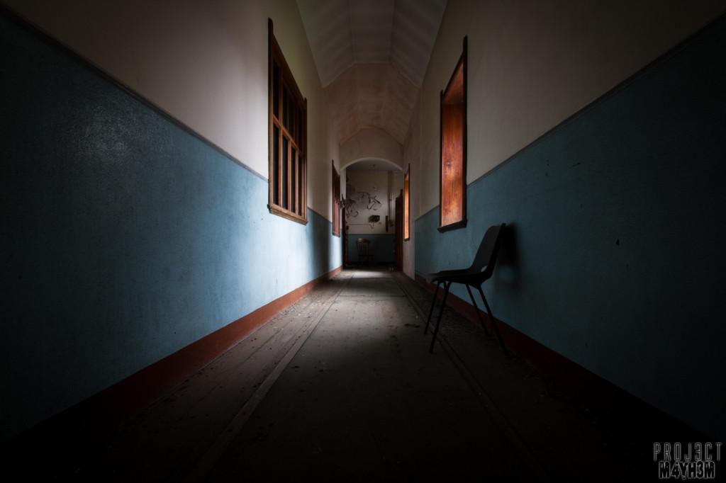 St Joesephs Seminary - Corridor