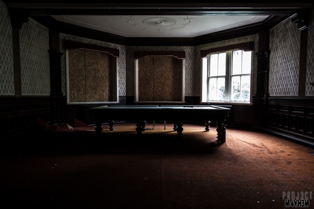 St Joesephs Seminary - Snooker Room