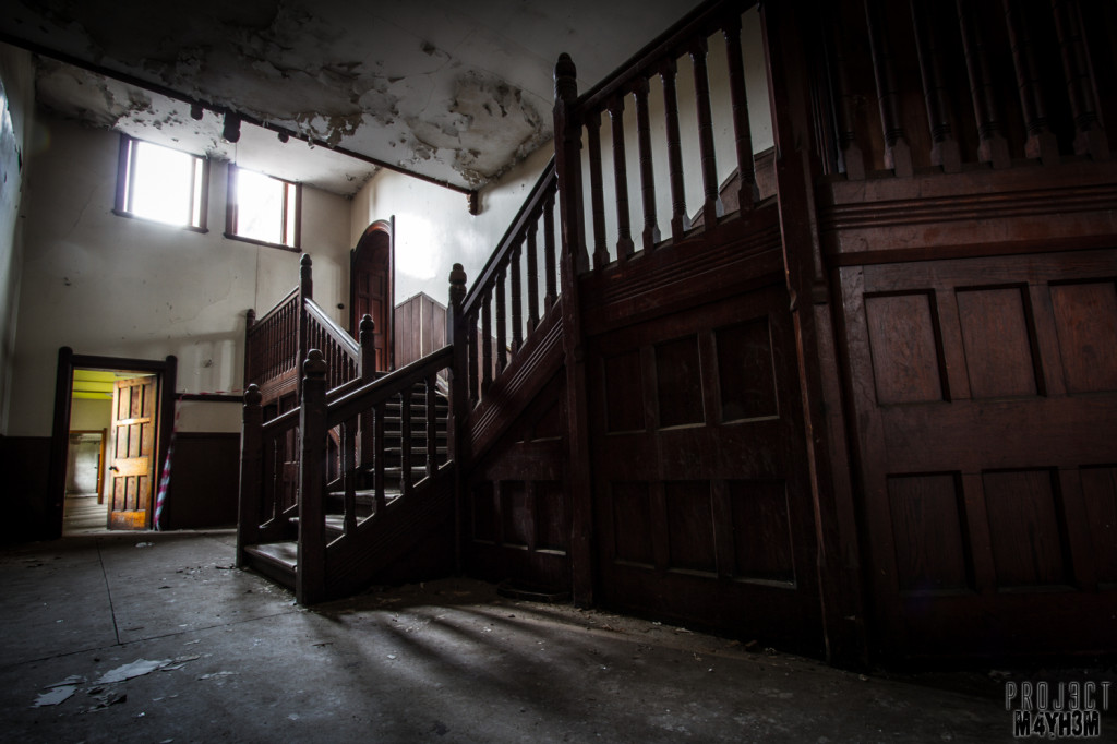 St Joesephs Seminary - Staircase