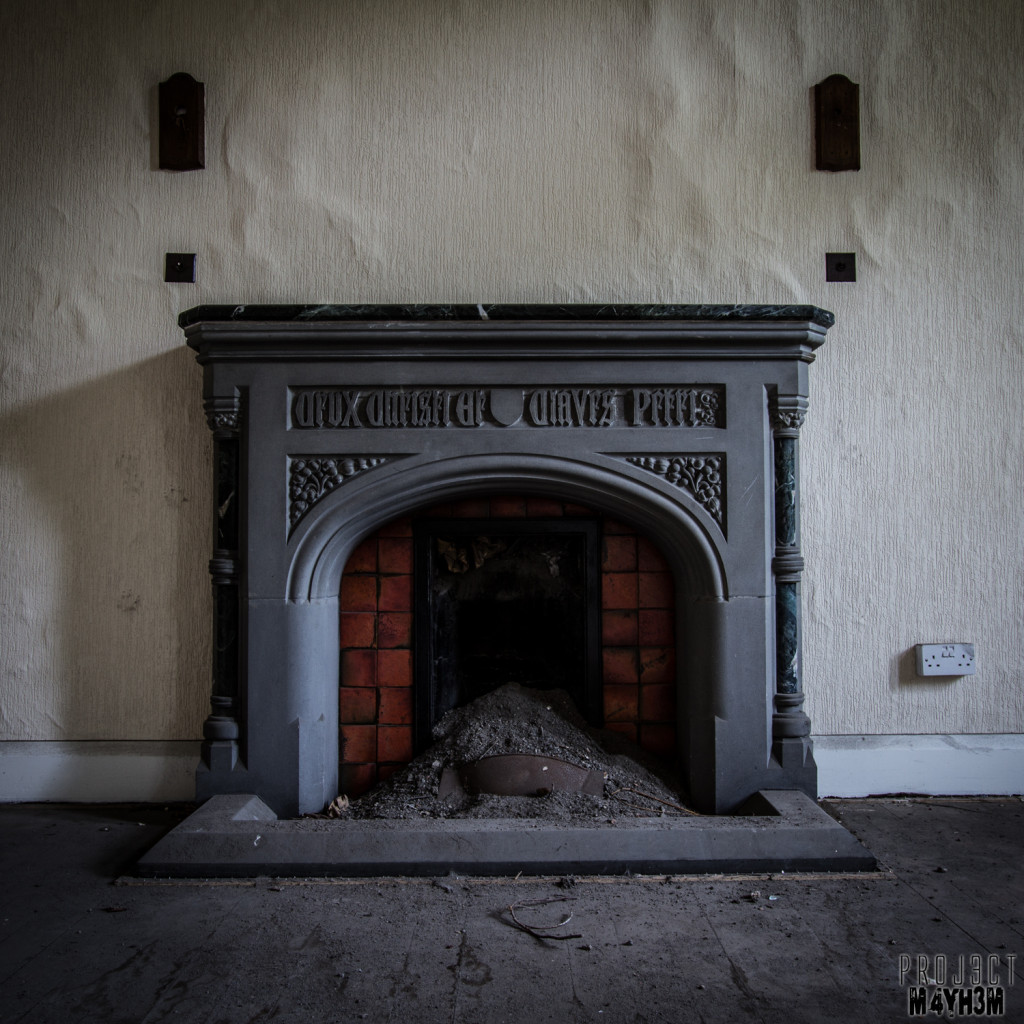 St Joesephs Seminary - Fireplace