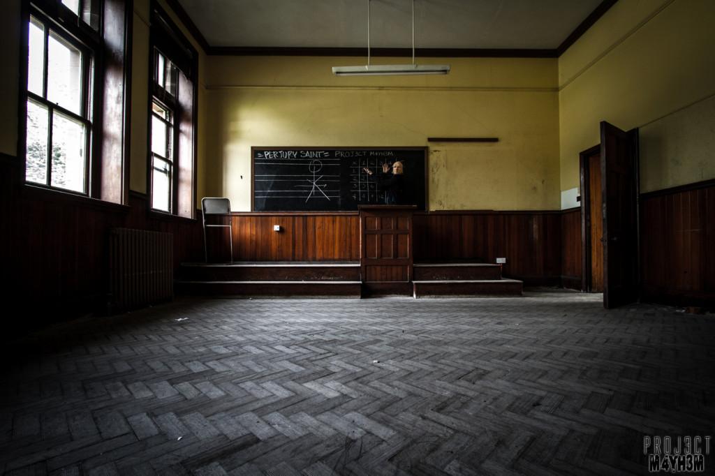 St Joesephs Seminary - Classroom