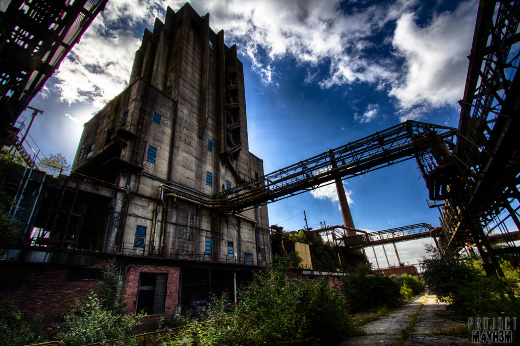 CWM Coke Works, Baddau, Wales