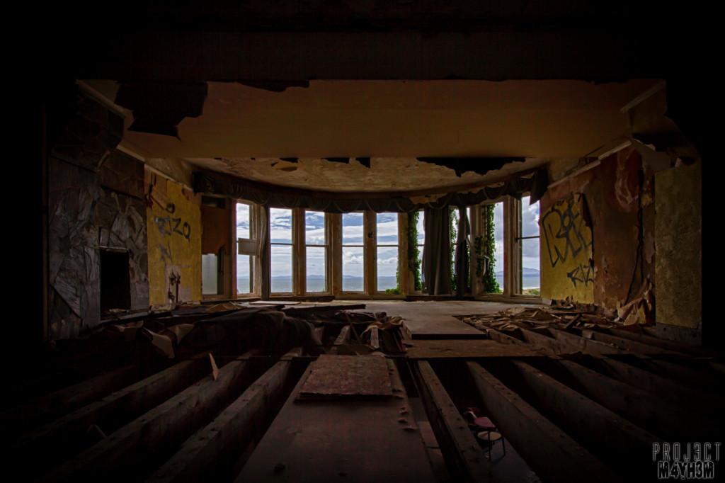 St Davids Abandoned Hotel Wales