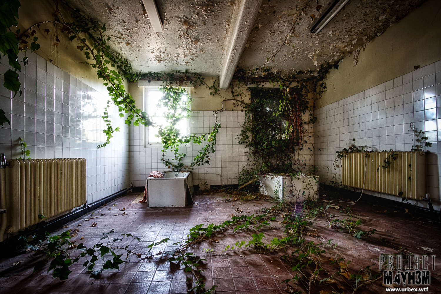 Proj3ctm4yh3m Urban Exploration St Georges Asylum Aka Northumberland County Pauper Lunatic Asylum Aka Ivy Hospital Morpeth October 2013