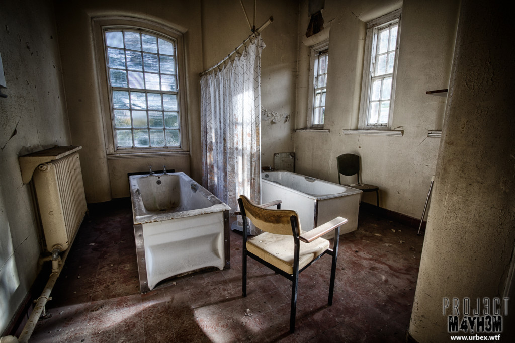 St Georges Asylum aka Northumberland County Pauper Lunatic Asylum  aka Ivy Hospital - Twin Baths