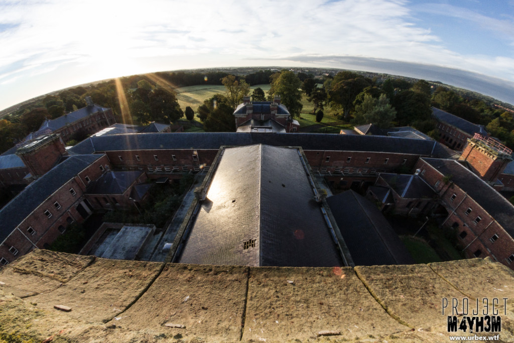 St Georges Asylum aka Northumberland County Pauper Lunatic Asylum  aka Ivy Hospital  - Up the water tower