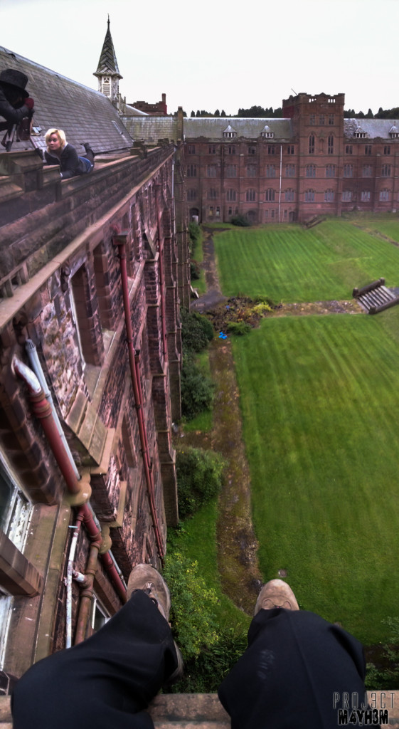 St Josephs Seminary Upholland - A long way down
