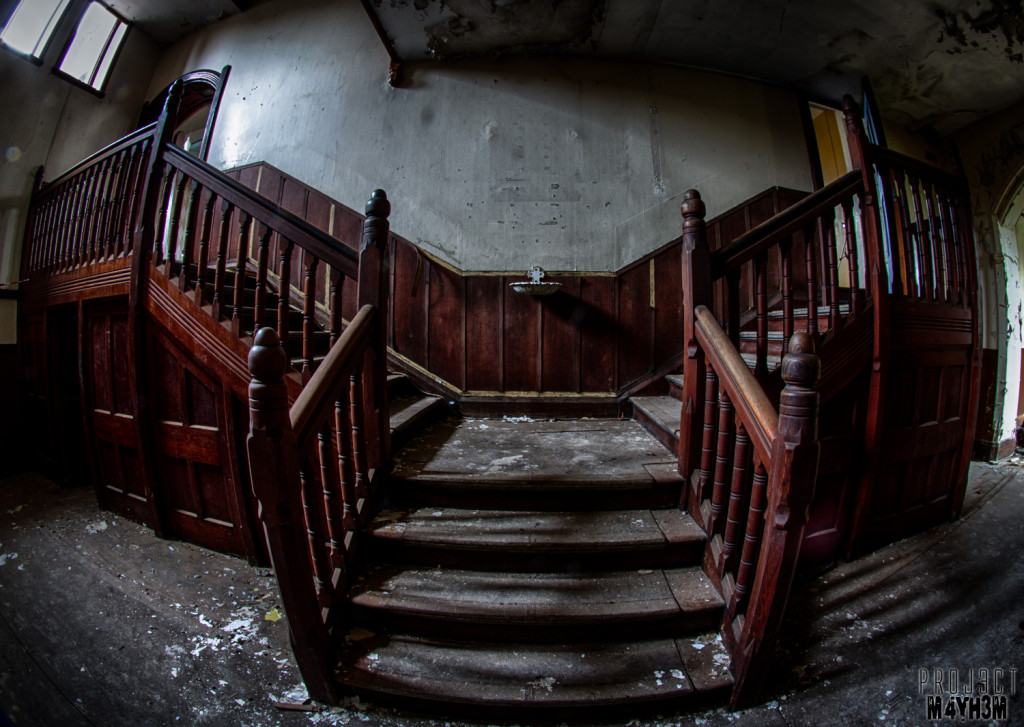 St Josephs Seminary Upholland - Staircase