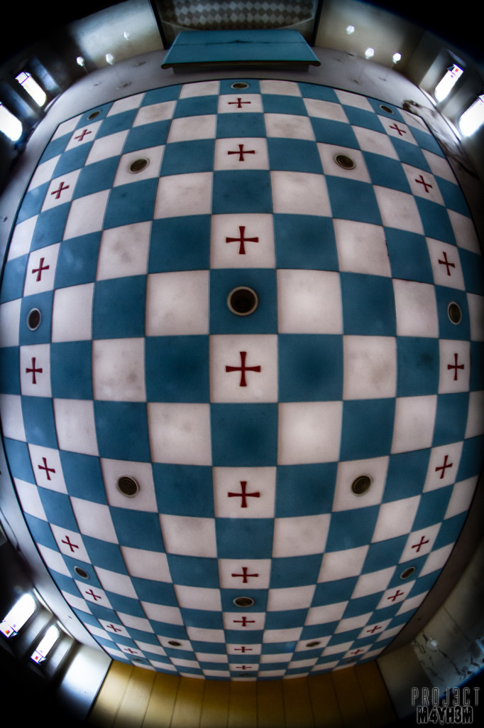 St Josephs Seminary Upholland - Chessboard Ceiling
