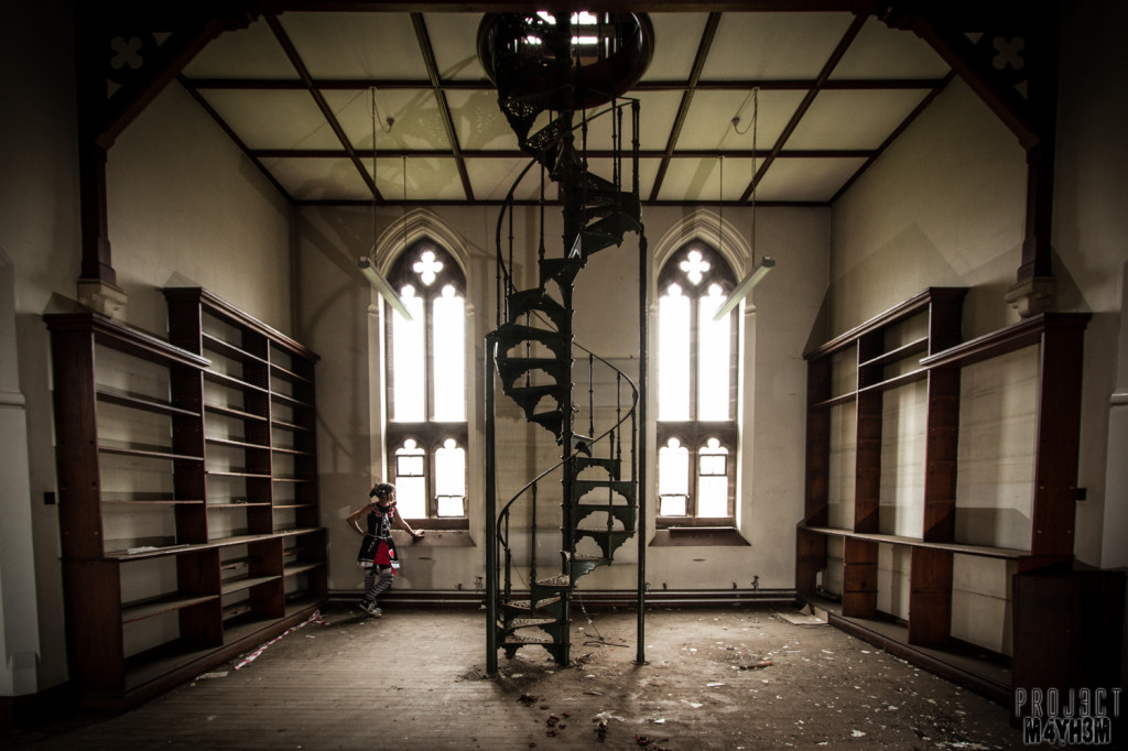 St Josephs Seminary Upholland - Library Staircase
