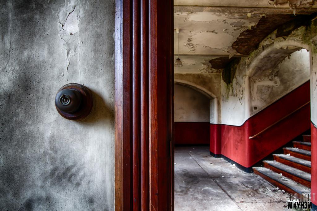 St Josephs Seminary Upholland - Ironing Board Corridor