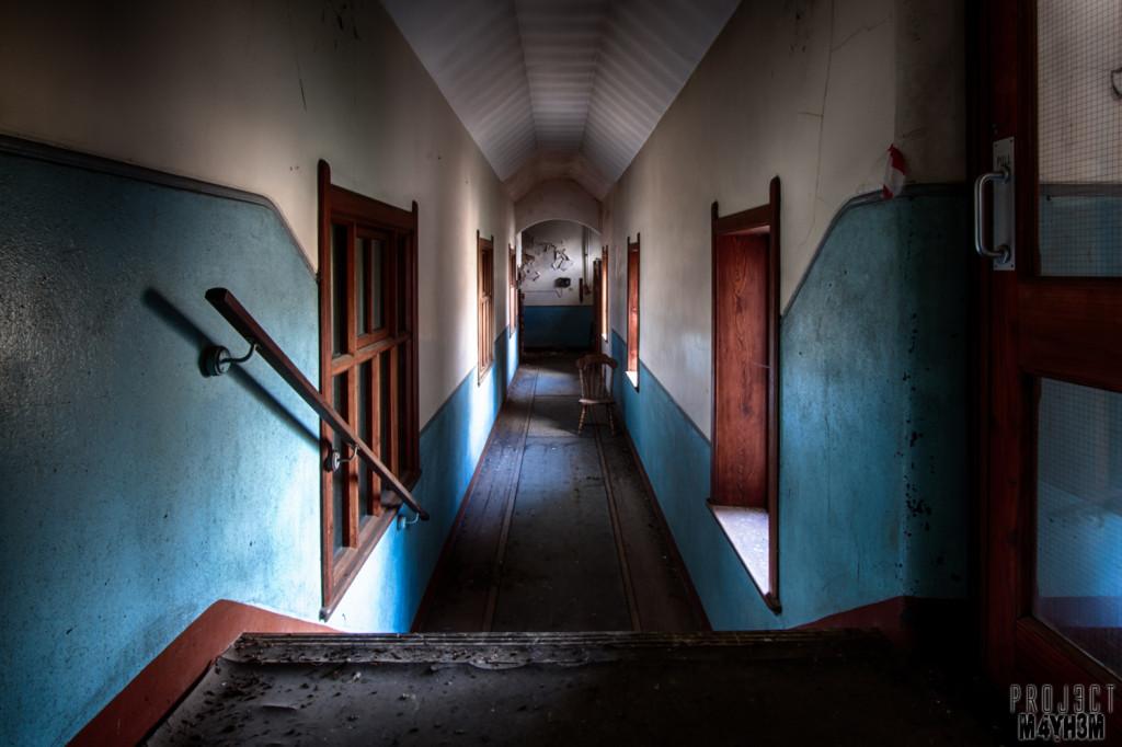 St Josephs Seminary Upholland - Corridor