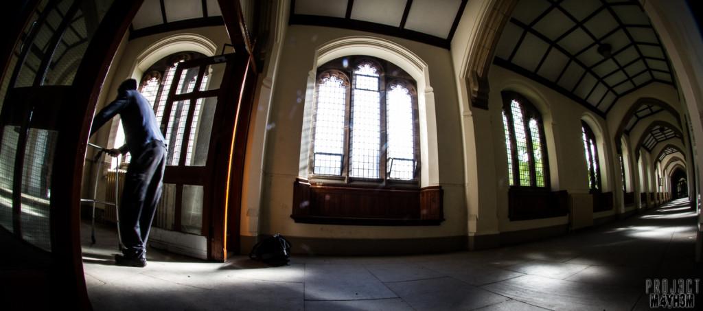 St Josephs Seminary Upholland - Main Corridor