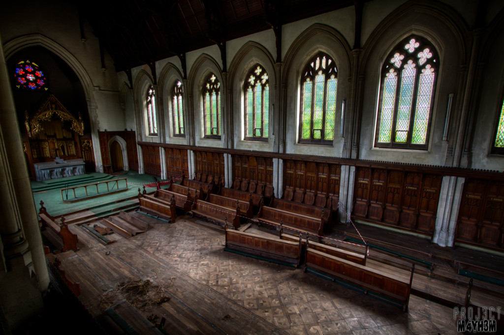 St Josephs Seminary Upholland - The Main Chapel