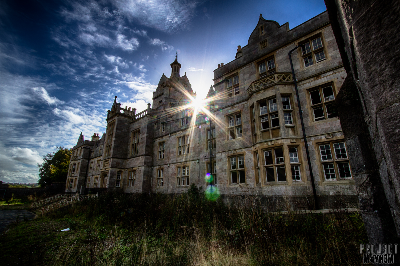 Proj3ctm4yh3m Urban Exploration Urbex Denbigh Lunatic Asylum Aka North Wales Hospital Denbighshire Wales October 2013 Revisit 2