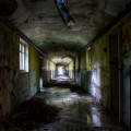 Severalls Lunatic Asylum - Reflections in the Corridor