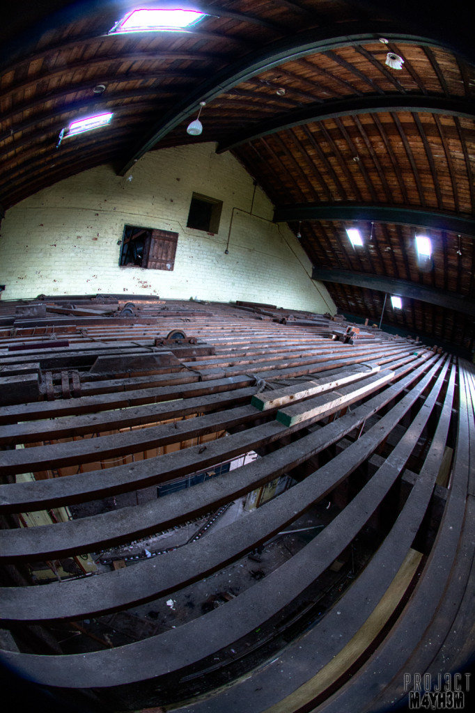 Whittingham Lunatic Asylum - Above the stage