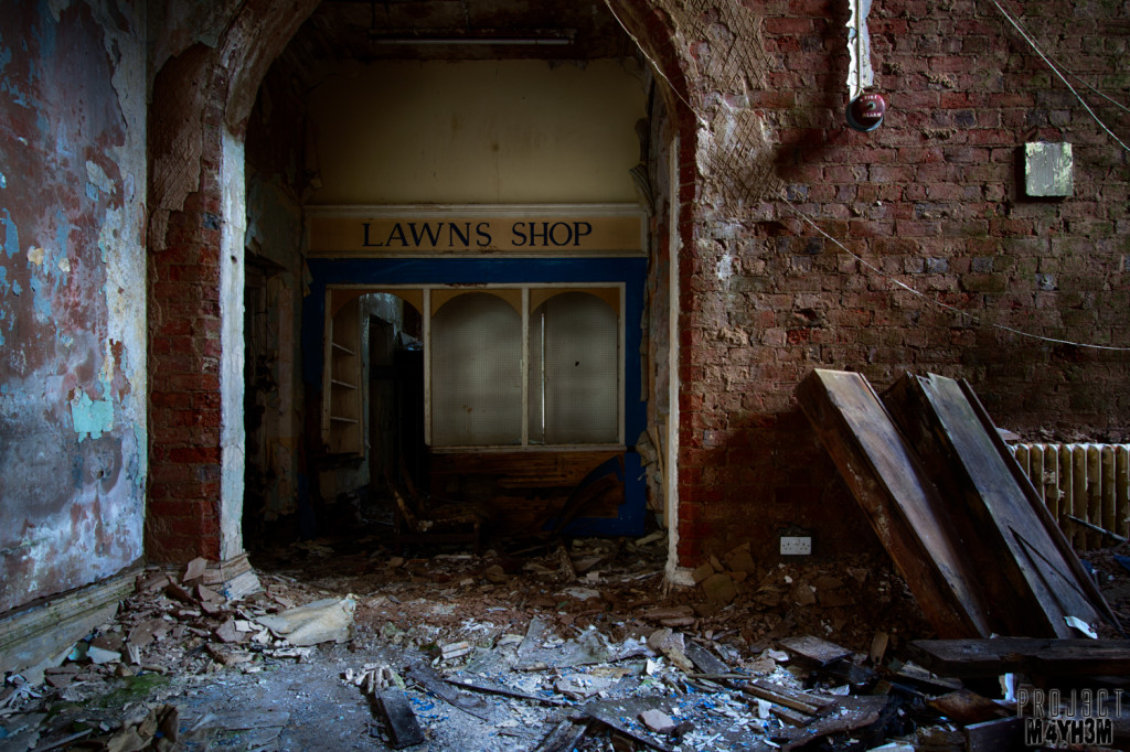 Whittingham Asylum Lawns Shop