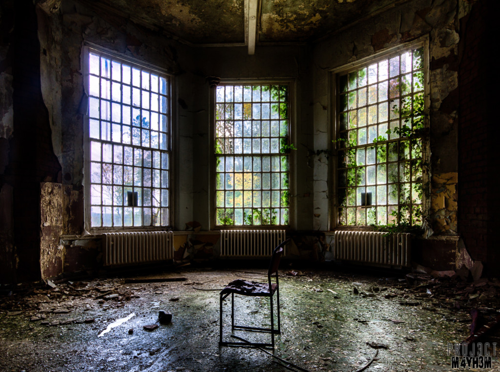 Whittingham Asylum Bay Window