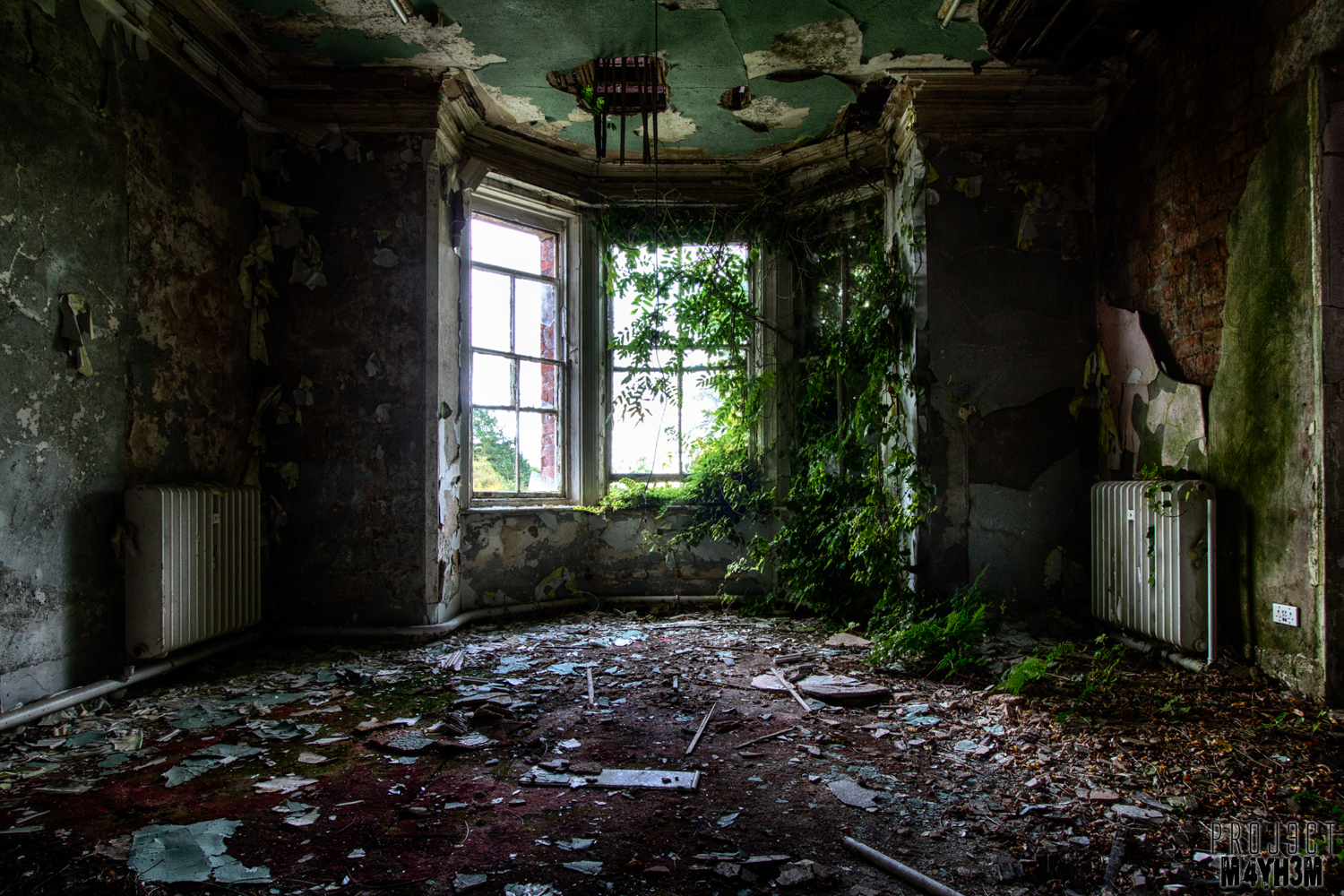 Urbex: Whittingham Asylum, Goosnargh, Lancashire - October 2013 ...