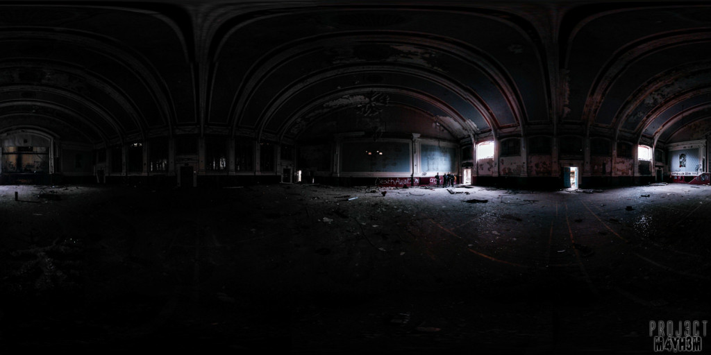 Whittingham Asylum Main Hall