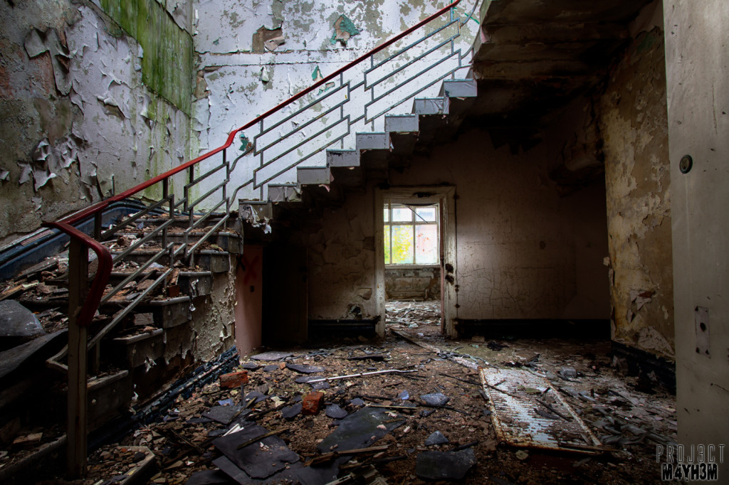 The Abandoned Whittingham Asylum