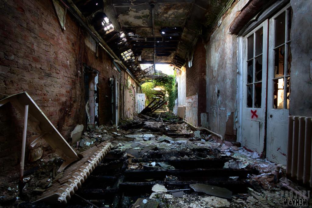 Whittingham Asylum Corridor