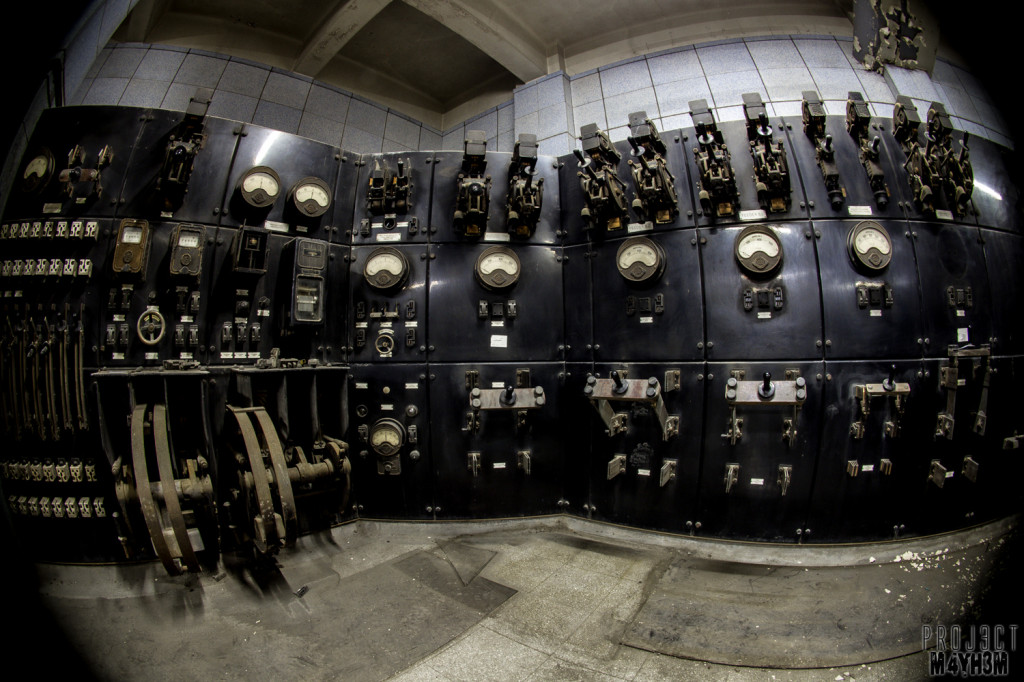Battersea Power Station Control Room B