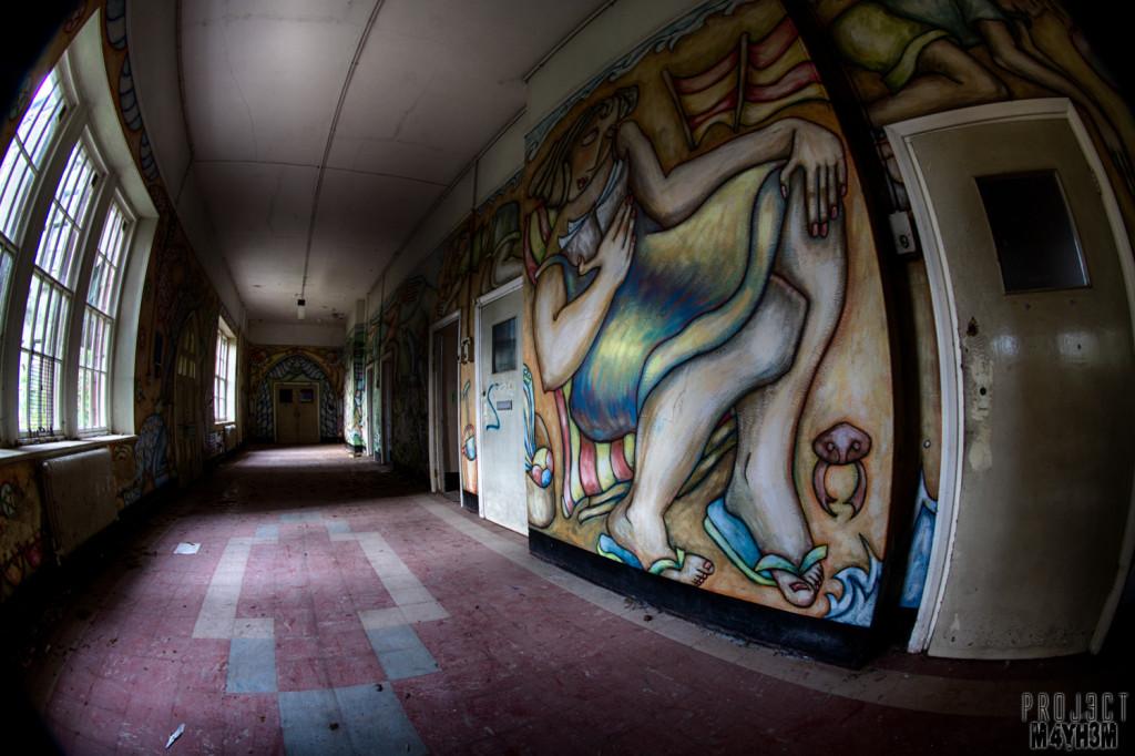 Lancaster Moor Asylum Mural Wards