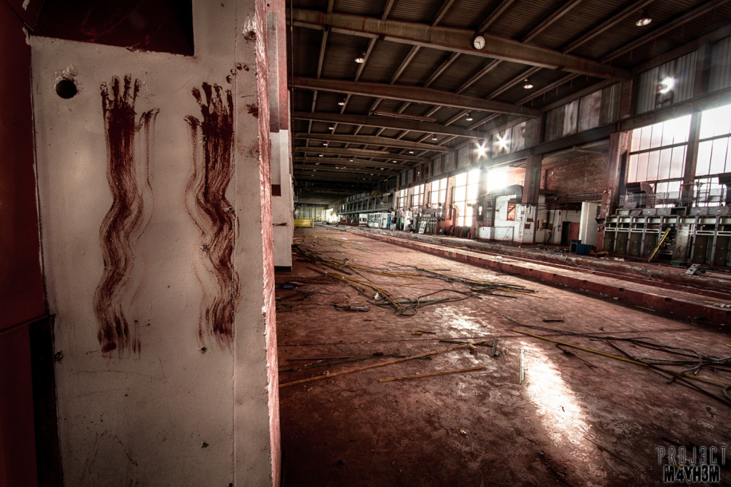 Pilkington Glass Factory Hand Prints