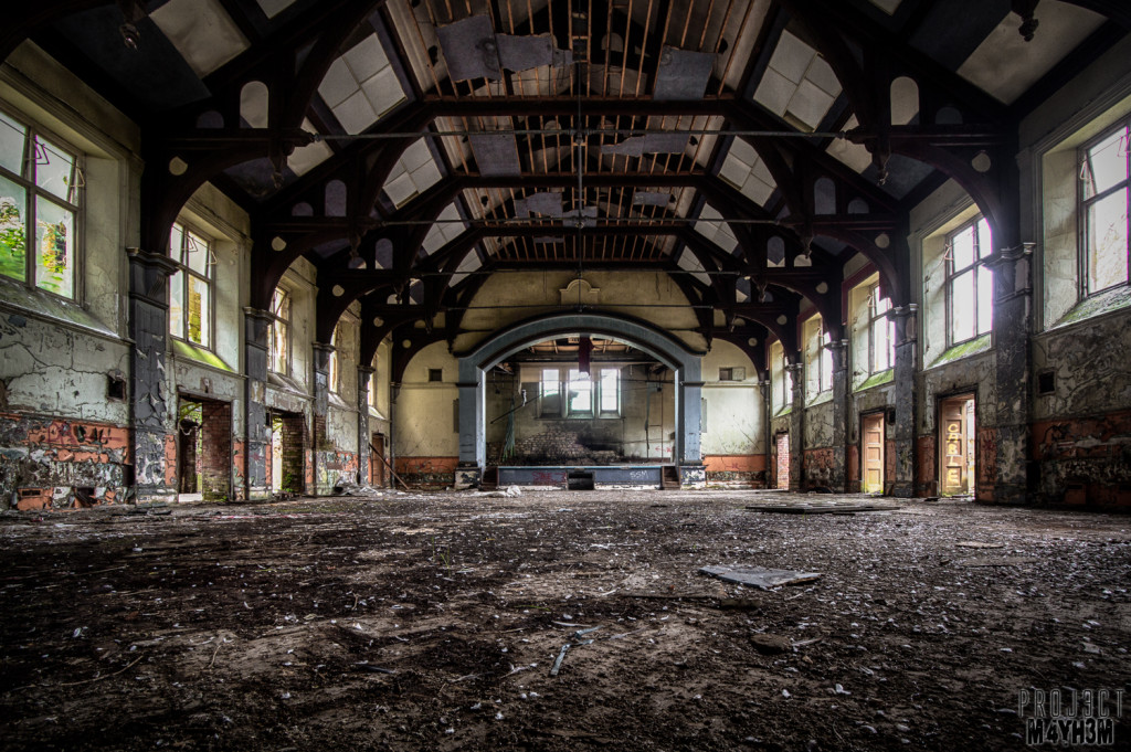 St Johns Asylum aka The Lincolnshire County Pauper Lunatic Asylum Main Hall