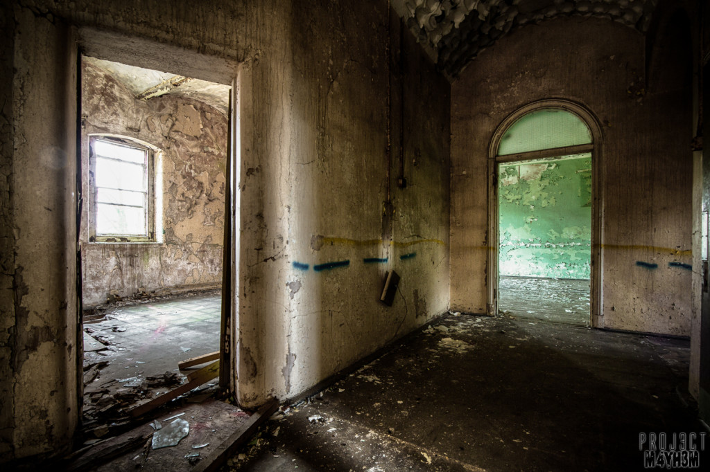 St Johns Asylum aka The Lincolnshire County Pauper Lunatic Asylum