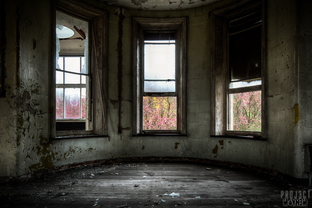 St Johns Asylum aka The Lincolnshire County Pauper Lunatic Asylum Bay Window