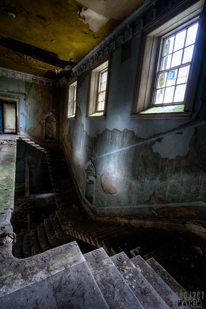 St Johns Asylum aka The Lincolnshire County Pauper Lunatic Asylum Staircase