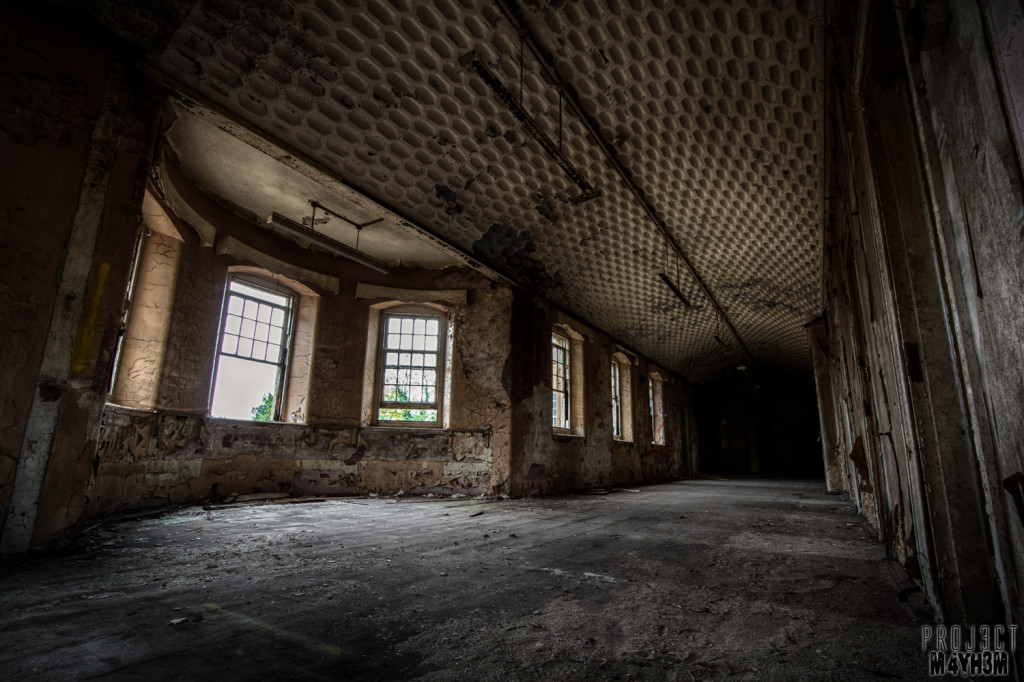 St Johns Asylum aka The Lincolnshire County Pauper Lunatic Asylum Corridor