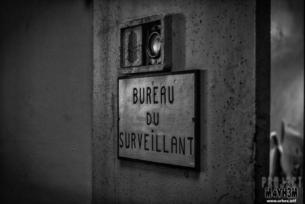 Prison H15 Bureau Du Surveillant
