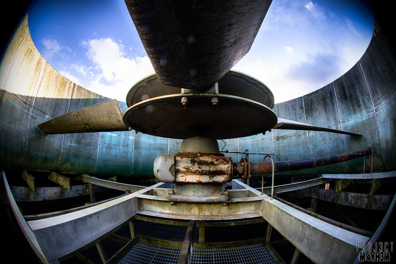 National Gas Turbine Establishment Pyestock Air House Cooling Towers