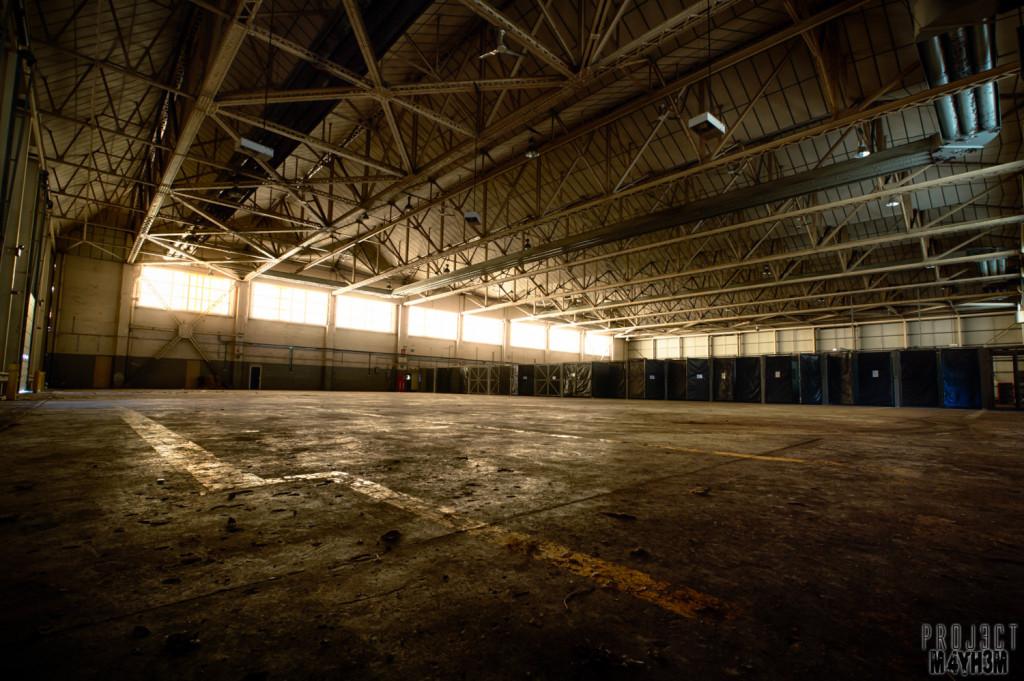 RAF Santas Grotto Hanger
