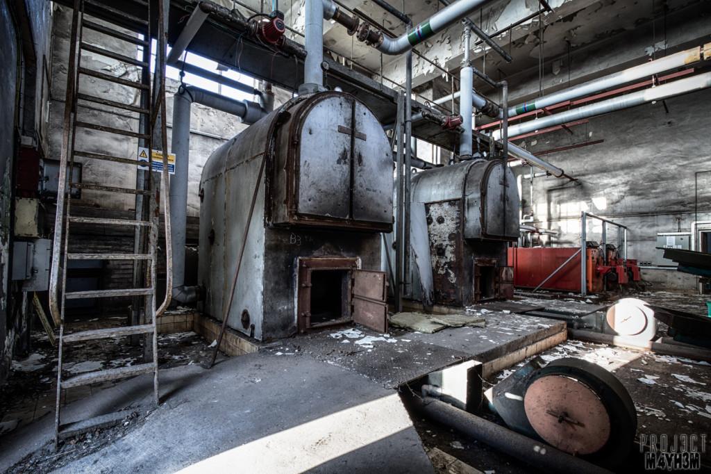 RAF Santas Grotto Boiler Room