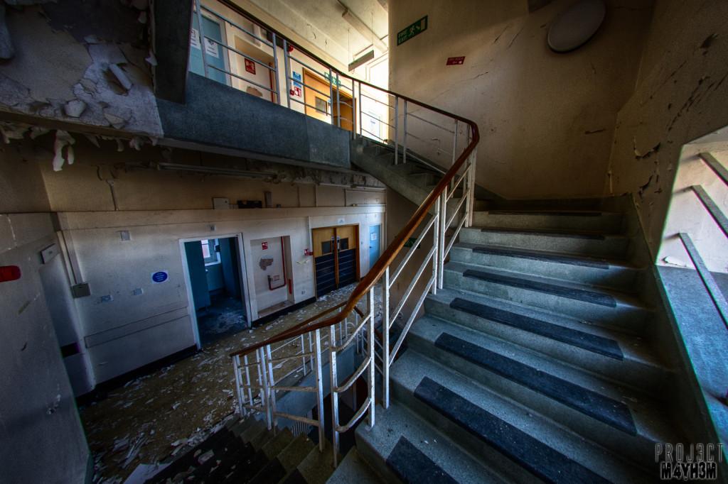 The Royal Hospital Haslar Staircase