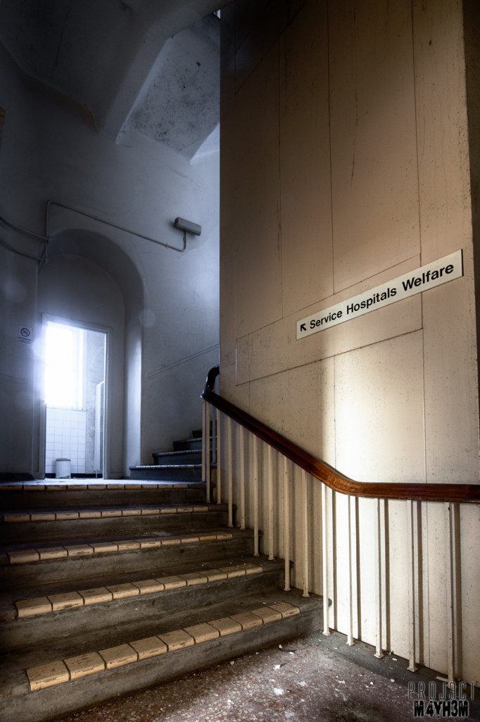 The Royal Hospital Haslar Staircase