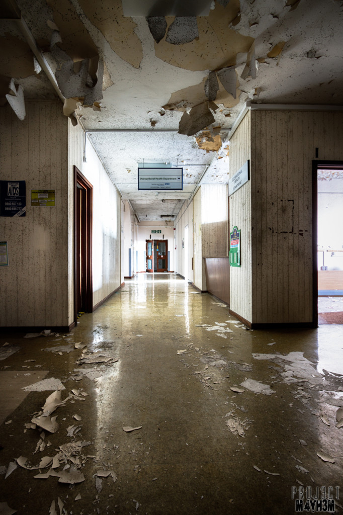The Royal Hospital Haslar Corridor