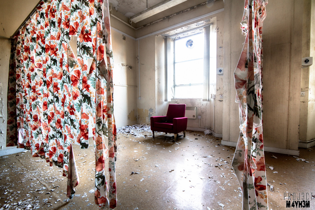 The Royal Hospital Haslar The Red Chair