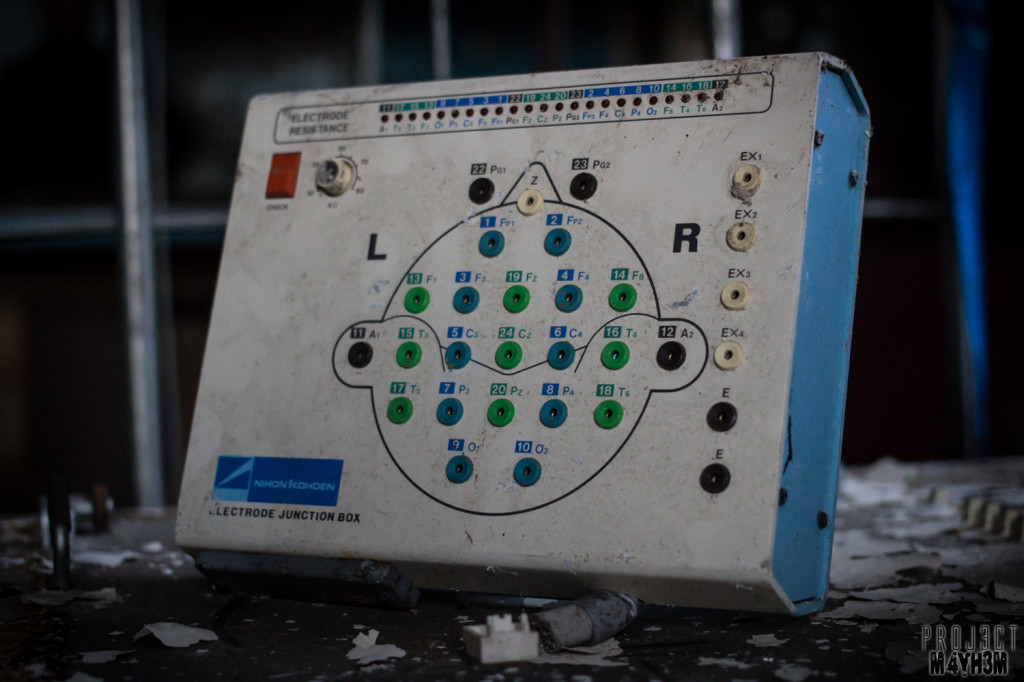 Whittingham Asylum EEG Machine