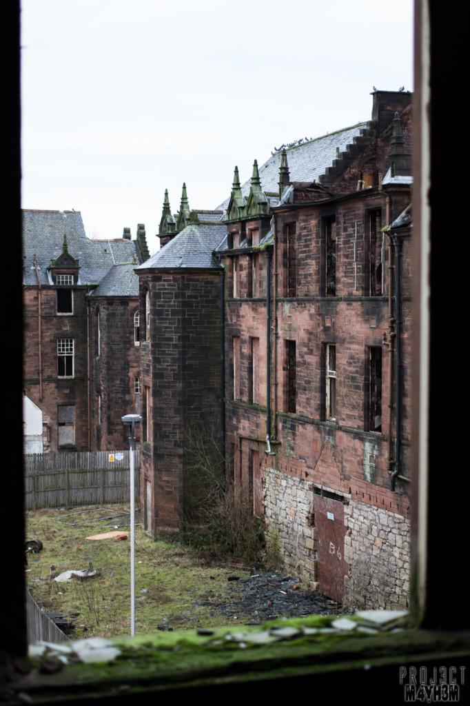 Glasgow District Asylum aka Gartloch Hospital Scotland