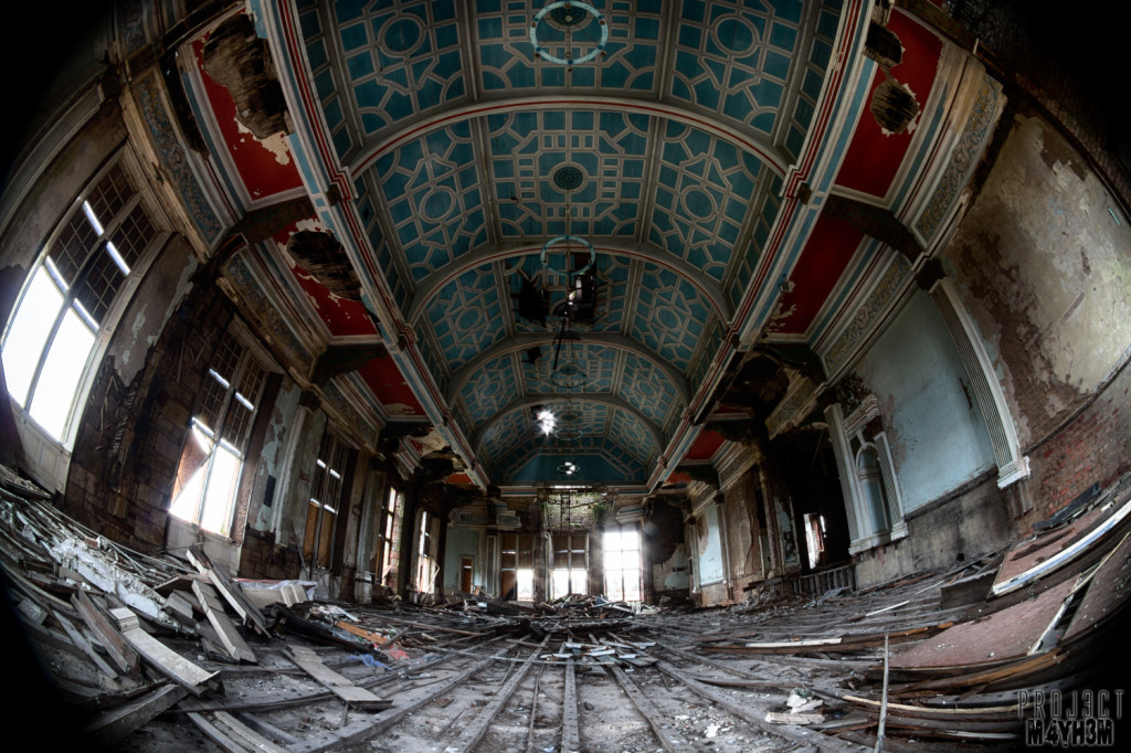 Glasgow District Asylum aka Gartloch Hospital Scotland The Ballroom